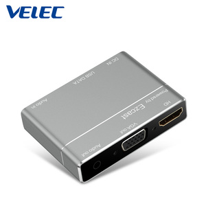 High grade vga hd converter S8 Pro wireless vga miracast anycast easy sharing cast any picture,videos,games and audio