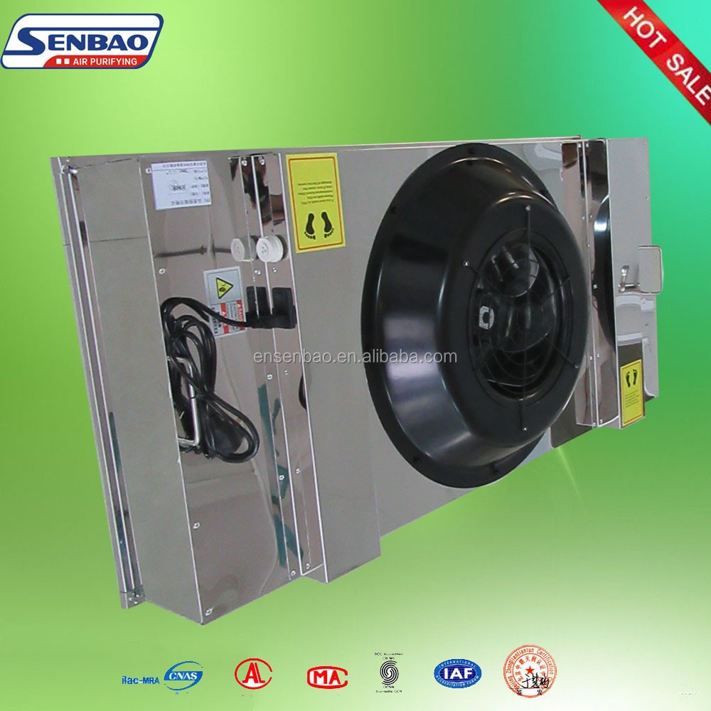 Laboratory Ventilation System Exhaust Fan with Hepa Filter