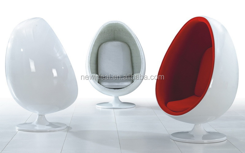 High Quality Fiberglass Egg Chairs For Sale NL2675