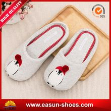 Free sample promotional woman gift house slipper discounts slippers winter slipper shoe