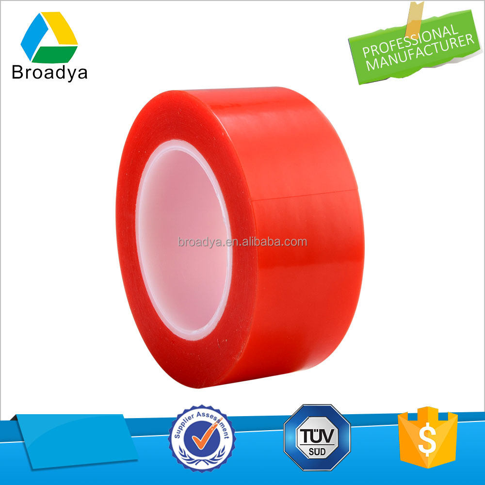 High temperature and high viscosity double sided PET tape made in Guangzhou factory