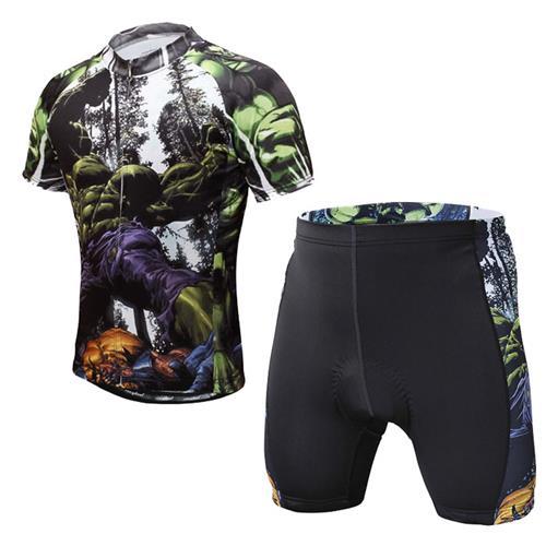 Get Quotations · Hulk Summer Bike Cycle Clothing 2015 Hot Sale Cycling  Jerseys Shorts Shirts MTB Ropa Ciclismo Tops 6865e9571