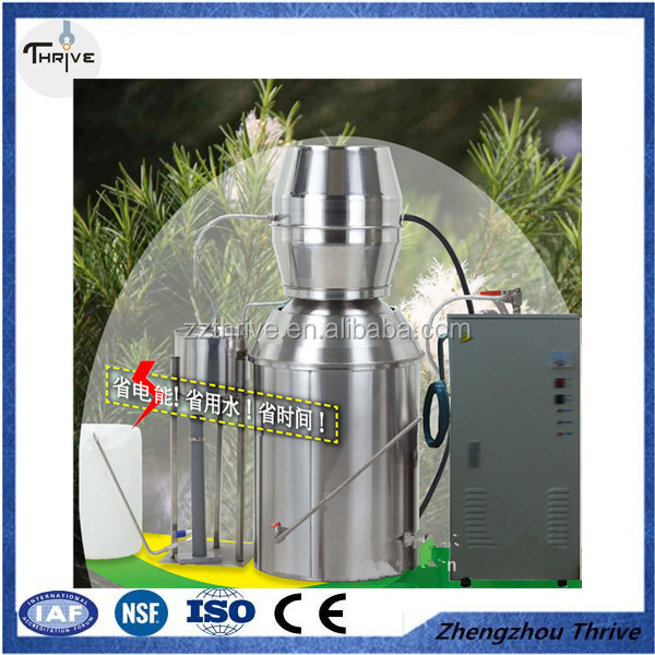 Electrical low-temperature steam distillation still for various natural plants