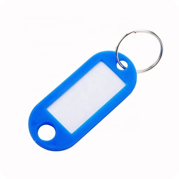 Promotion Write Letters Square Luggage Tags Design Your Own Keychain