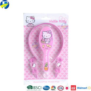 F&J brand hello kitty plastic hairbands big bow bowknotl hairbands Kids hair accessosries set