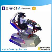4K 9d vr car race, 9d racing simulator game machine