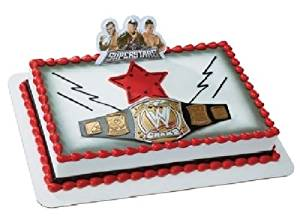 Buy Cakedrake World Wrestling Belt Wwe John Cena Randy Orton The Miz Cake Decor Topper Kit W In Cheap Price On Alibaba Com
