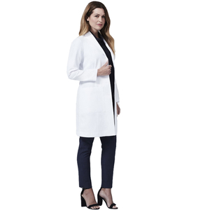 Adults Factory Price Medical University Hospital Clinic Medical Designs Doctors Students Nursing Lab White Color Coat