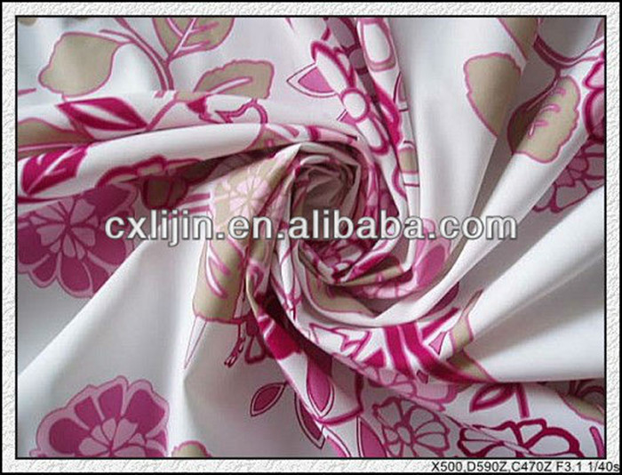 100% Polyester twill fabric for bedspreads by china distributors for home textile