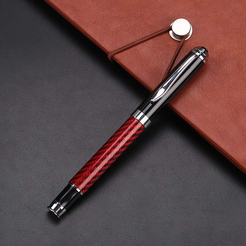Custom Factory Direct Sell Carbon Fiber Signature Pen Carbon Fiber Roller Ball Pen With Logo