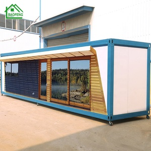 with mezzanine roof movable portable prefab home temporary housing