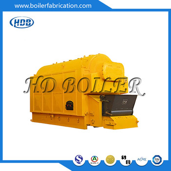Gas Fired Hot Water Steam Boiler / Industrial Water Tube Boiler ...