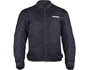 Victory Motorcycle Mens Black Lite Mesh Jacket- 3xlarge