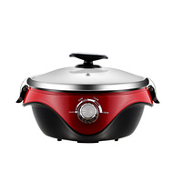 5L/1800W New design electric thermal hot pot multi thermal cooker with SS304 inner pot