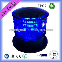 IP67 Solar LED Barricade Warning Light ( Used in Ships,Boats,Yacht,Buoys,Mining Truck Roads,Airport )