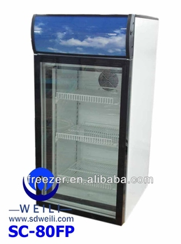 Glass Door Energy Drink Promotional LG Mini Refrigerator With Freezer
