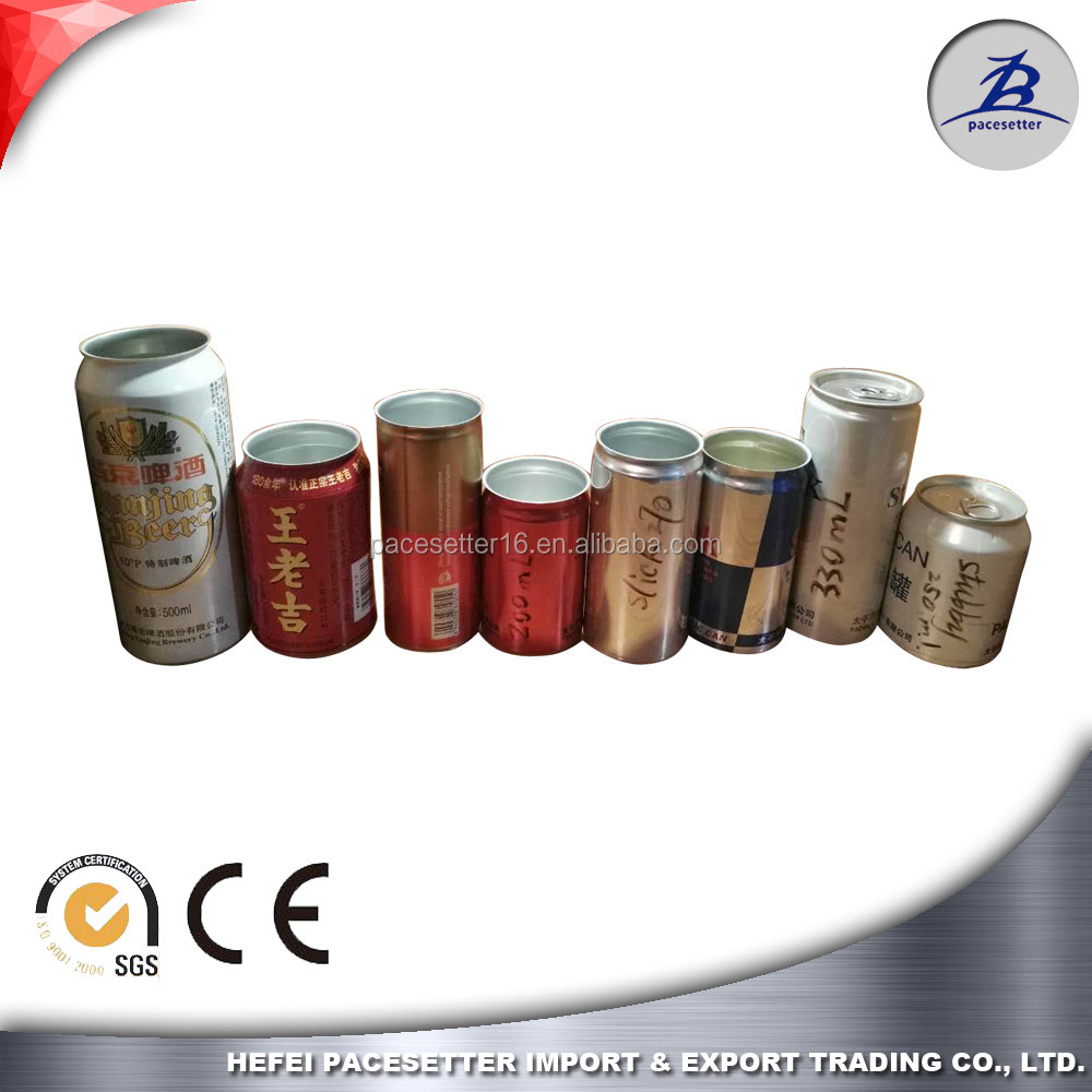 hot sales 330ml beer can 500ml can with 202 206 SOT lids