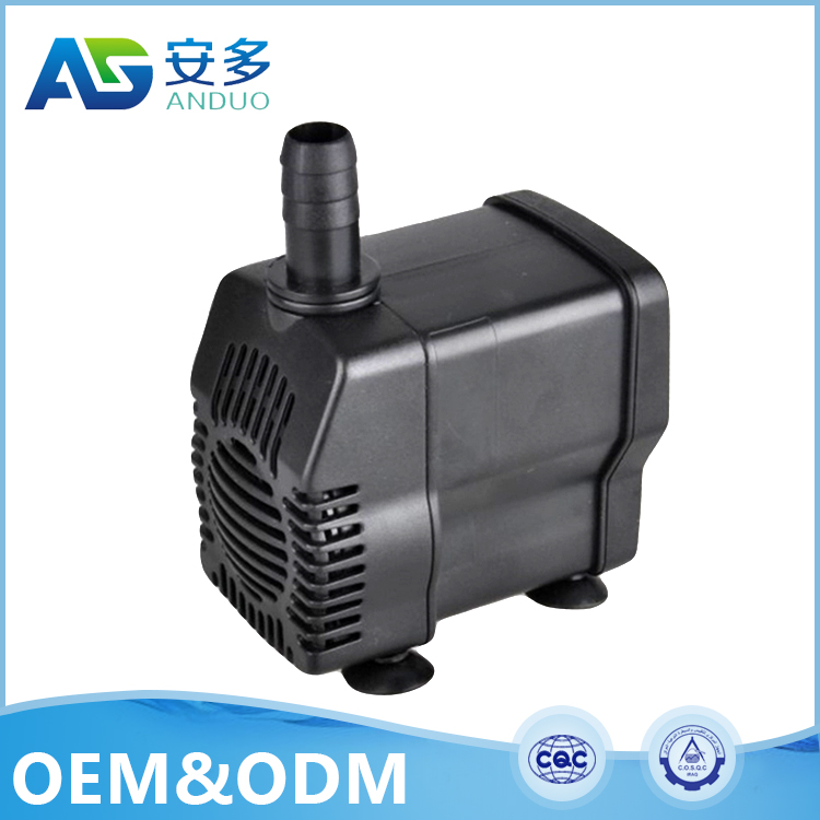 AD-458 220v 8W 1000L/H 6 feet 2 inch diameter deep well electronics ac water tank aquarium submersible water pump
