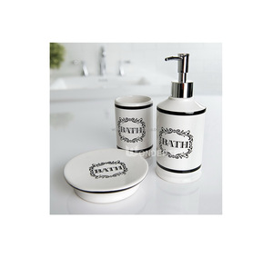 Ceramic Bathroom Bath Accessories