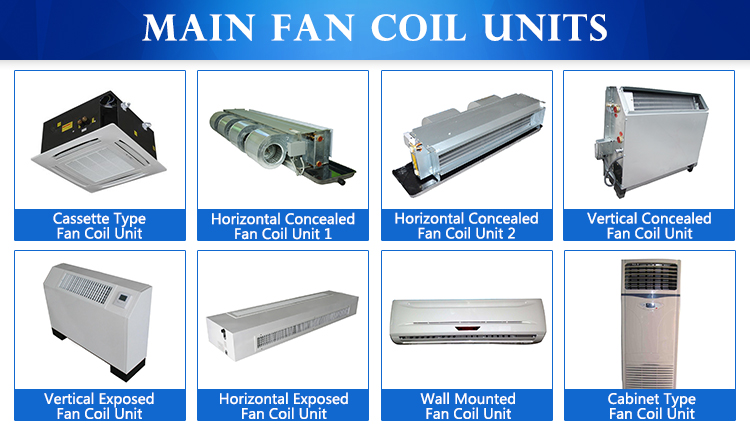 Wholesale Horizontal Hvac Trane Chilled Water Fan Coil Unit Design Buy Hvac Fan Coil