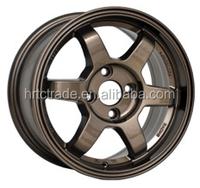 HRTC 14inch 15inch 16inch 17inch 18inch 19inch rays volk TE37 replica aftermarket car alloy wheel