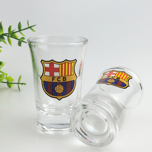 Clear Promotional wholesale old fashion shot glass /Souvenir custom Shot Glasses cup/glassware