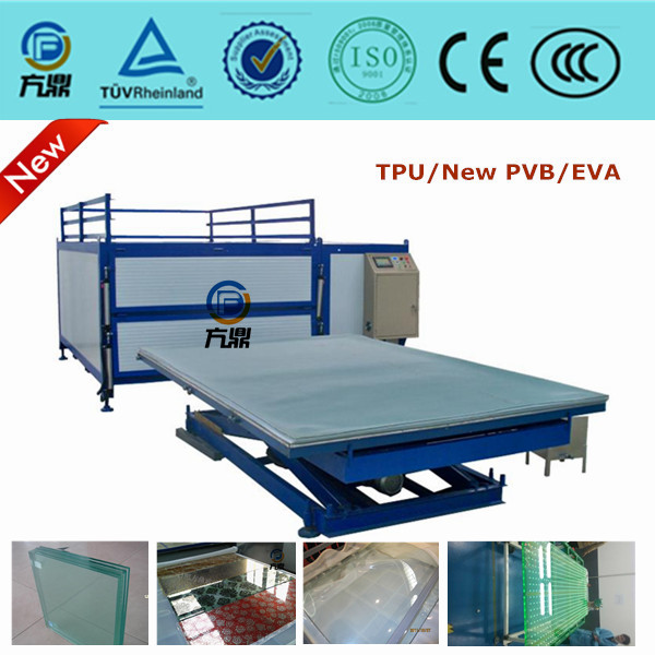 bending tempered glass making machine production line