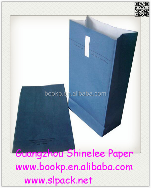 Custom paper air sickness disposable sick bag/ airplane air sickness paper bag