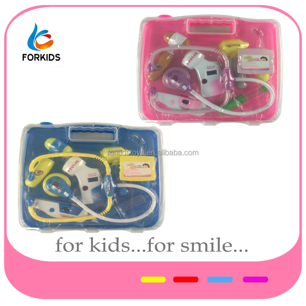 5b4808343c8c4 Kids Family Doctor Play Set Toys