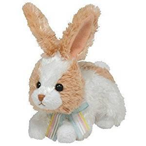 Ty Basket Beanies Bobsy - Bunny