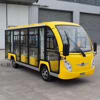 luxury Electric Sightseeing Car with heater and air conditioning