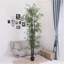 Reasonable price fashion design lively making factory artificial bamboo tree