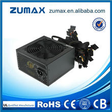 ZUMAX Cool Master Silent Pro 12V Active PFC Power Supply 400W For Wholesales