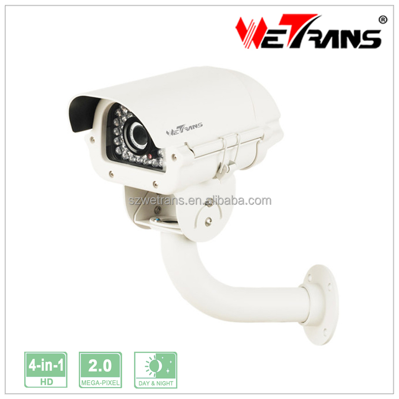 AHD Camera SONY CMOS White Light LED 1080P 2.0MP 30m Colorful Night Vision Waterproof Car Plate Reading Camera TR-X20DR23