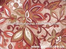 100% Polyester Fabric Printing with Flower Printed Fabric
