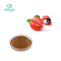 100% Natural Organic Guarana Extract Pure Caffeine Powder