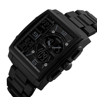 China hot sell 5 atm water proof high-grade watch shocking digital watch wristwatch 1274
