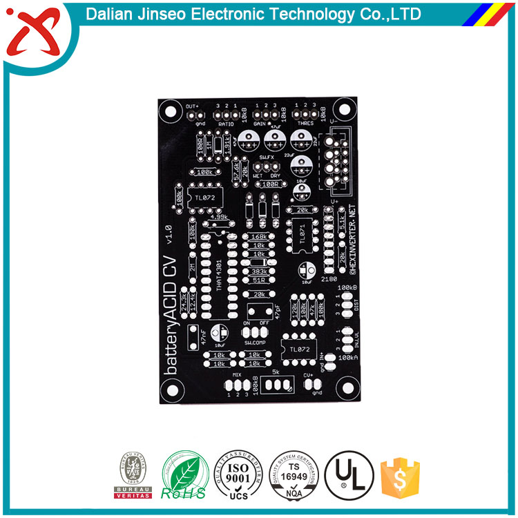 Motherboard thick copper pcb board for high current applications