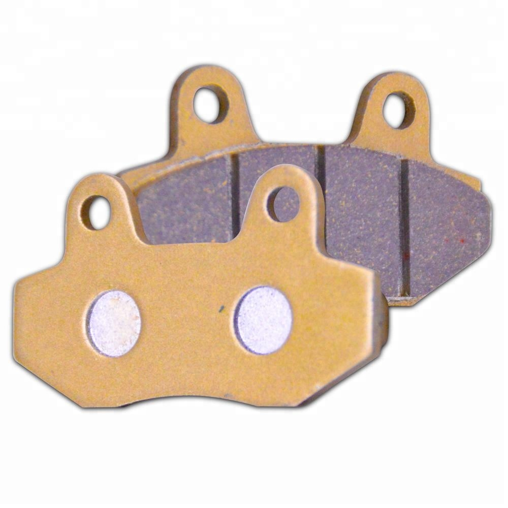 SEMI METAL FRONT OR REAR BRAKE PADS FOR SMC YB 125 09