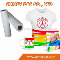 Factory Wholesale Price Wide Format Dye Sublimation Transfer Paper for Textile Printing