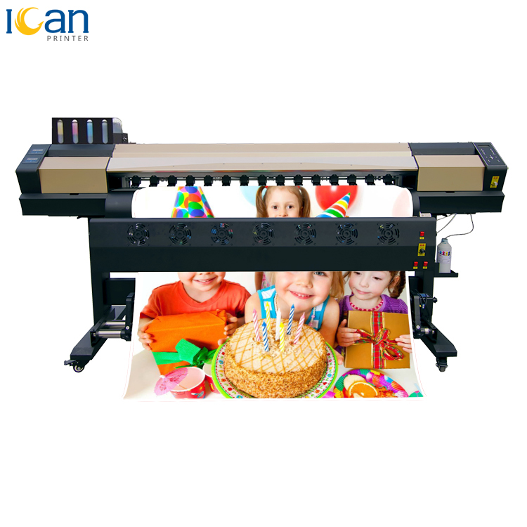 China printer manufacturer low price 1.7m sublimation printer used for vinyl film