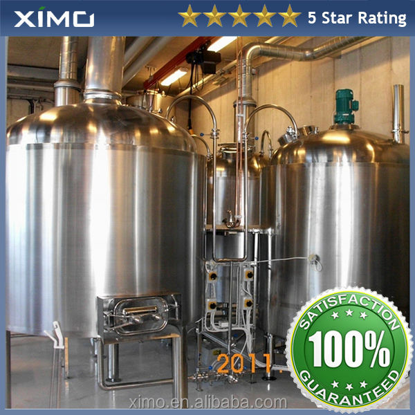 100L,200l,300l,500l,1000l small beer brewery plant with CE&ISO for promotion and free technical support