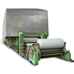 Turn-Key Project Copy Paper Machine/News Paper Production Line, Equipment for The Production of Paper A4