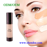 ODM/OEM private label top sell high quality waterproof beauty cosmetics makeup best liquid foundation