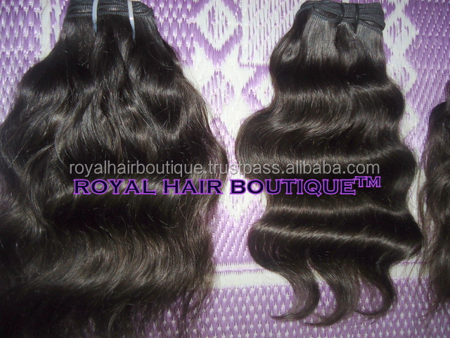 alibaba India Remy human hair wholesale Natural wave 100% Remy indian hair