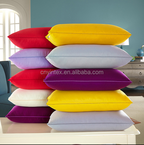 Colorful 100% Microfiber Polyester Filling Cotton Pillow