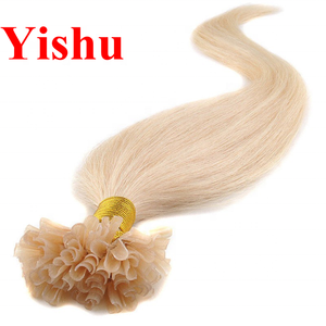 2019 Yishu hair factory fast express wholesale 5a 6a 7a 8a virgin human hair u tip ombre hair extensions