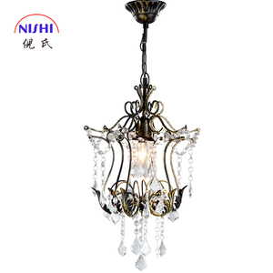 New Product Most Popular Nis NS-120150 Led Wood Home Goods Modern Crystal Egg Pendant Lamp