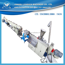 Plastic extrusion machine for extruding PVC pipe /tube line