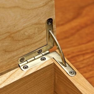 Stainless Metal  Hinge  Wine Box Quadrant Hinge for Wooden Box